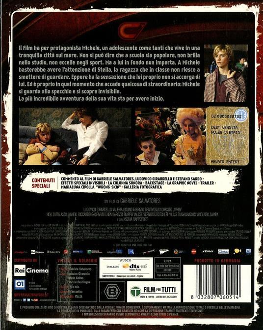 Il ragazzo invisibile (Blu-ray) di Gabriele Salvatores - Blu-ray - 2