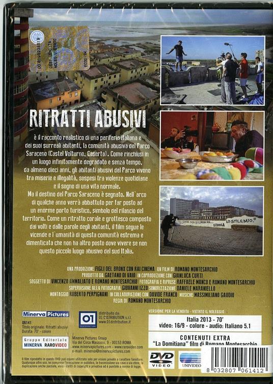 Ritratti abusivi di Romano Montesarchio - DVD - 2