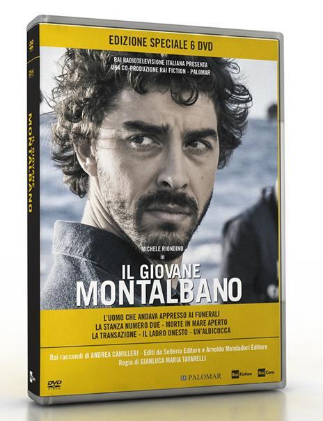 Il giovane Montalbano. Stagione 2 (6 DVD) di Gianluca Maria Tavarelli - DVD