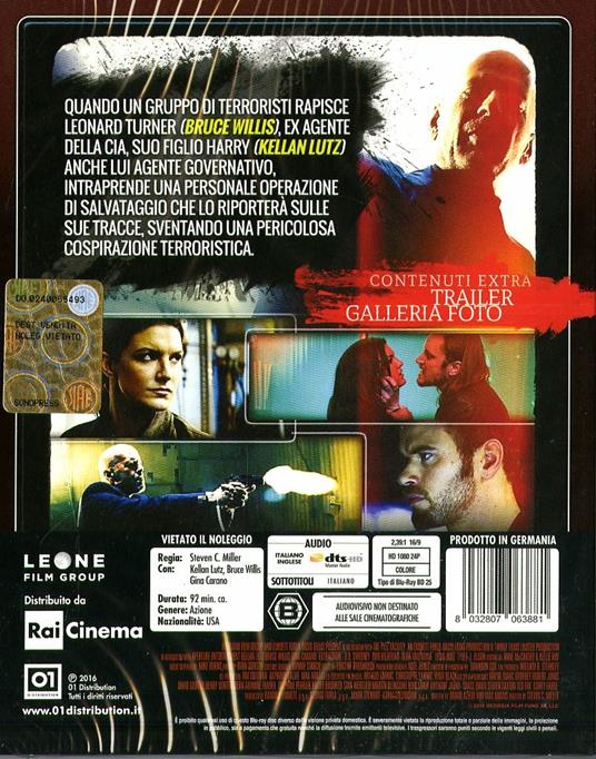 Extraction di Steven C. Miller - Blu-ray - 2