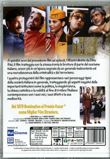 I nuovi mostri di Mario Monicelli,Ettore Scola,Dino Risi - DVD - 2