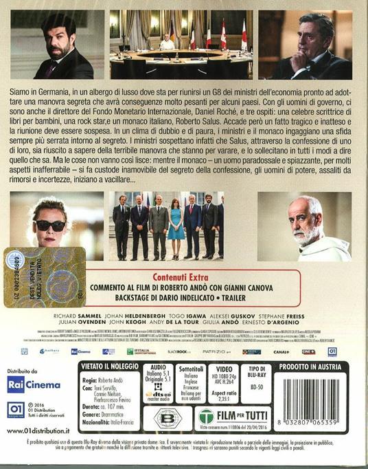 Le confessioni di Roberto Andò - Blu-ray - 8