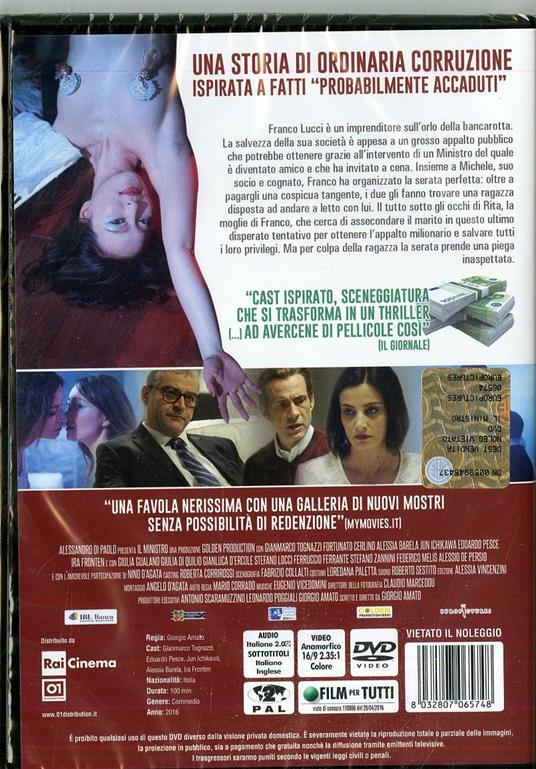 Il Ministro di Giorgio Amato - DVD - 2