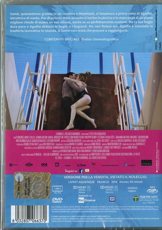 L' effetto acquatico di Solveig Anspach - DVD - 2
