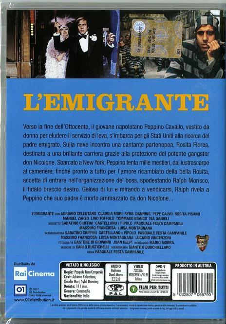 L' emigrante di Pasquale Festa Campanile - DVD - 2