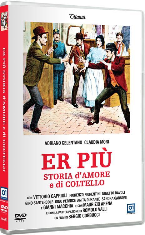 Er Più, storia d'amore e di coltello di Sergio Corbucci - DVD