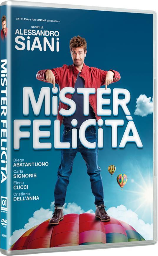 Mister Felicità (DVD) di Alessandro Siani - DVD