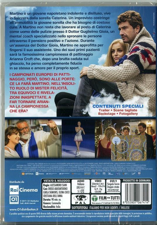 Mister Felicità (DVD) di Alessandro Siani - DVD - 2