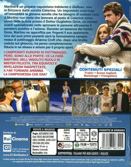 Mister Felicità (Blu-ray) di Alessandro Siani - Blu-ray - 2