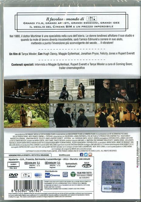 Hysteria (DVD) di Tanya Wexler - DVD - 2