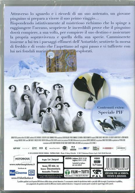 La marcia dei pinguini. Il richiamo (DVD) di Luc Jacquet - DVD - 2
