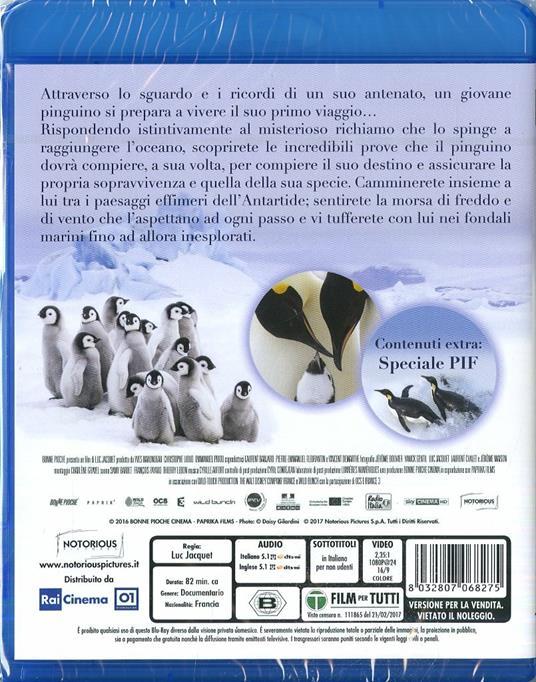 La marcia dei pinguini. Il richiamo (Blu-ray) di Luc Jacquet - Blu-ray - 2