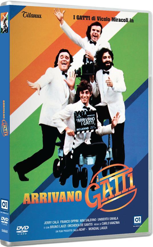 Arrivano i Gatti (DVD) di Carlo Vanzina - DVD