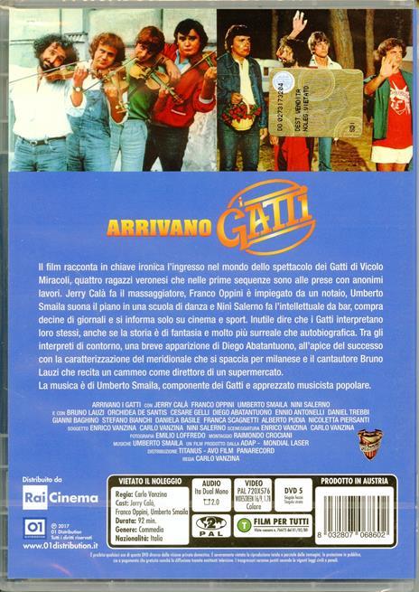 Arrivano i Gatti (DVD) di Carlo Vanzina - DVD - 2