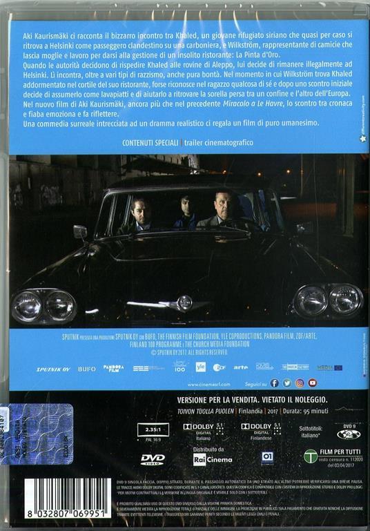 L' altro volto della speranza (DVD) di Aki Kaurismäki - DVD - 2
