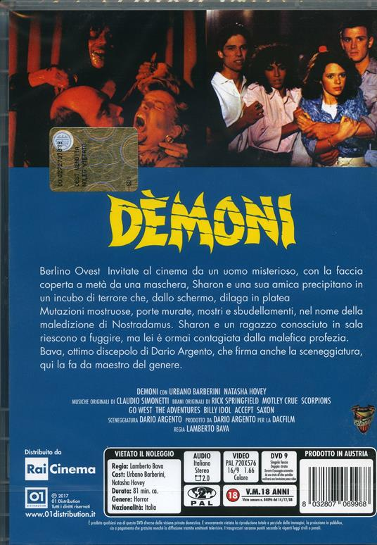 Demoni (DVD) di Lamberto Bava - DVD - 2