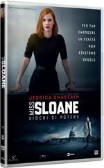 Miss Sloane. Giochi di potere (DVD)