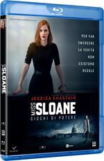 Miss Sloane. Giochi di potere (Blu-ray)
