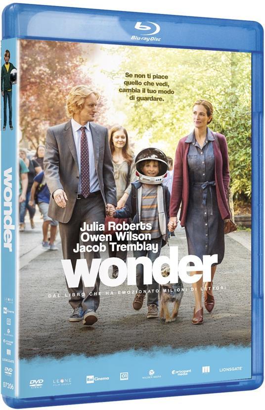 Wonder (Blu-ray) di Stephen Chbosky - Blu-ray