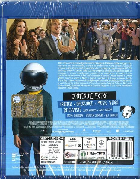 Wonder (Blu-ray) di Stephen Chbosky - Blu-ray - 10