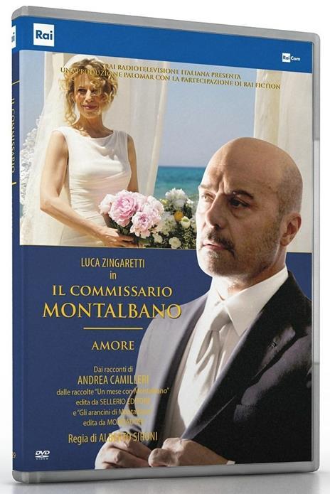 Il commissario Montalbano. Amore (DVD) di Alberto Sironi - DVD