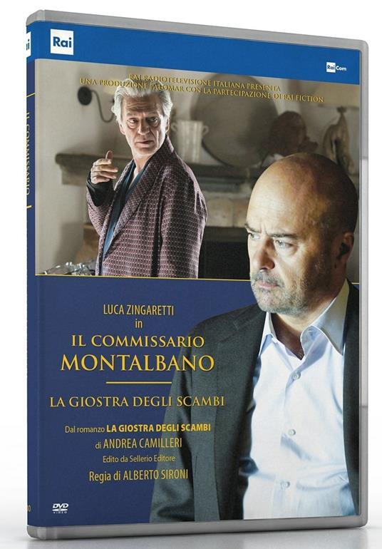Il commissario Montalbano. La giostra degli scambi (DVD) di Alberto Sironi - DVD
