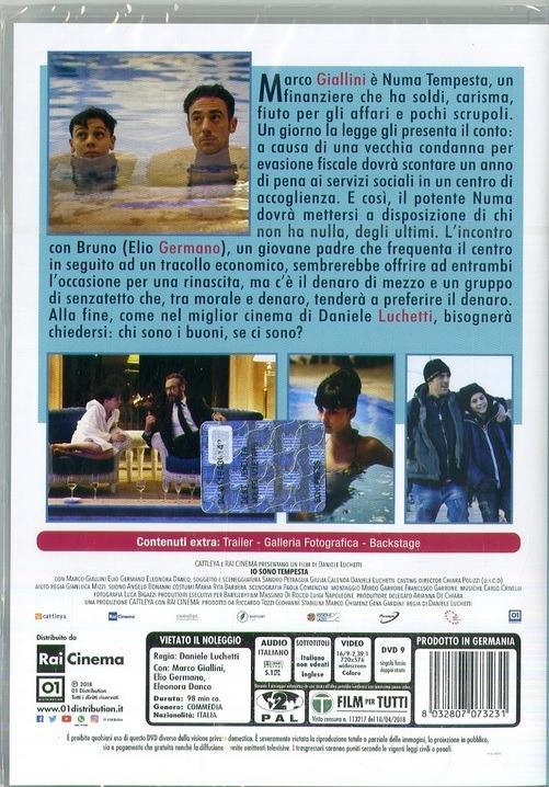 Io sono tempesta (DVD) di Daniele Luchetti - DVD  - 2