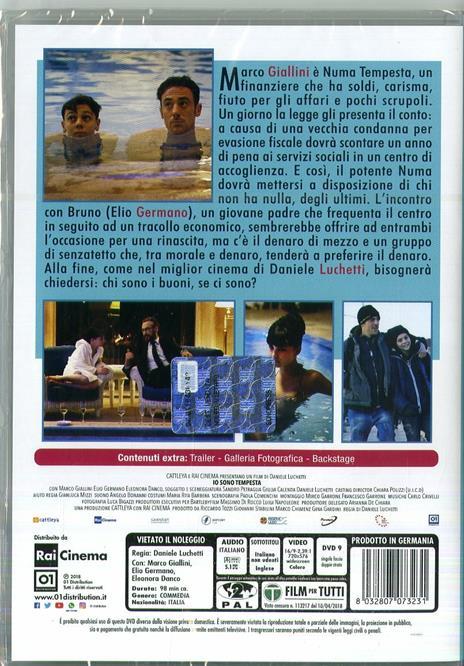 Io sono tempesta (DVD) di Daniele Luchetti - DVD  - 3