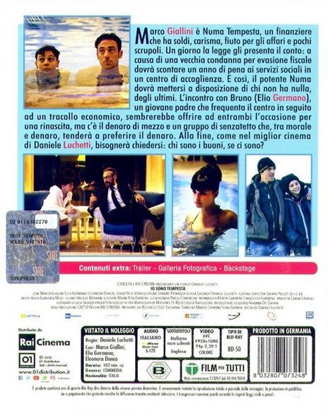 Io sono tempesta (Blu-ray) di Daniele Luchetti - Blu-ray - 2