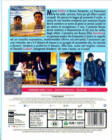 Io sono tempesta (Blu-ray) di Daniele Luchetti - Blu-ray - 3