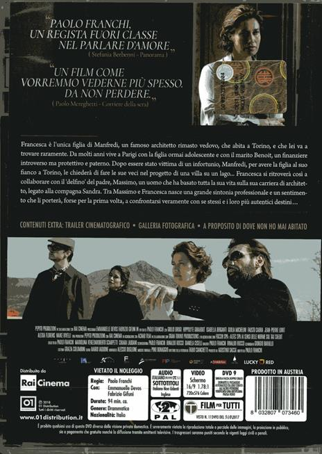 Dove non ho mai abitato (DVD) di Paolo Franchi - DVD - 2