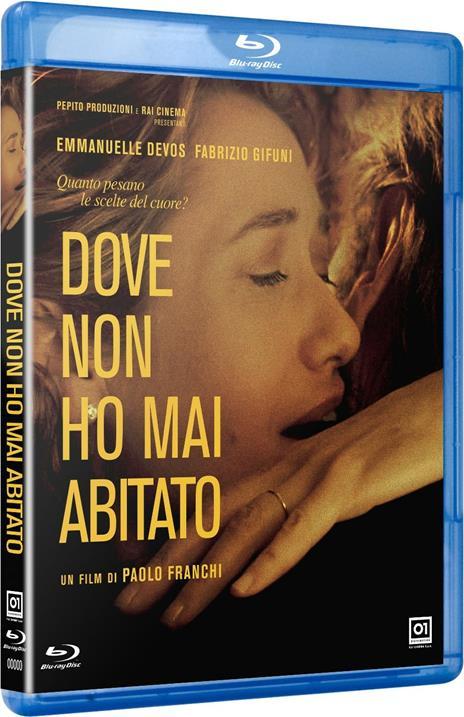Dove non ho mai abitato (Blu-ray) di Paolo Franchi - Blu-ray