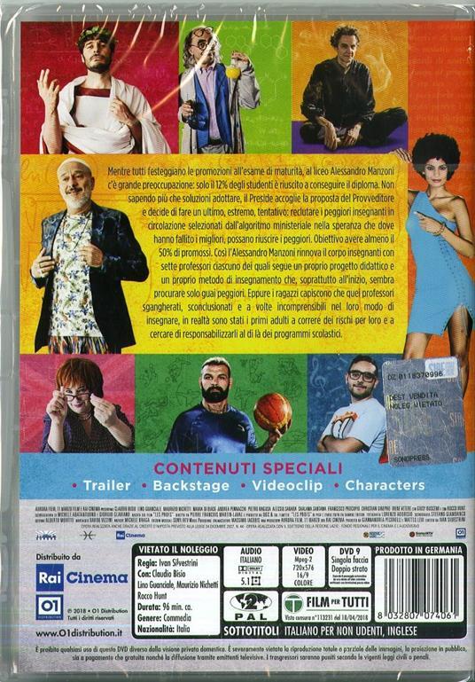 Arrivano i prof (DVD) di Ivan Silvestrini - DVD  - 3