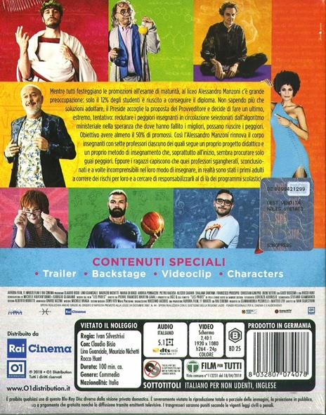 Arrivano i prof (Blu-ray) di Ivan Silvestrini - Blu-ray - 3