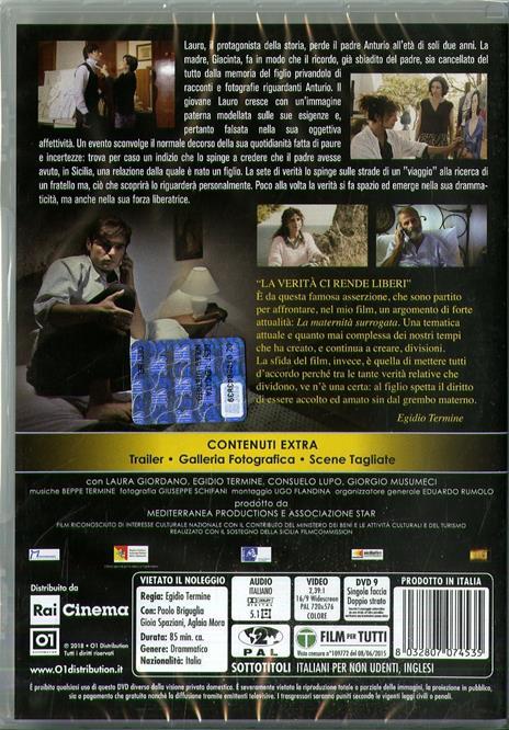 Il figlio sospeso (DVD) di Egidio Termine - DVD - 2