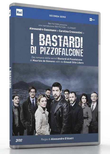 I bastardi di Pizzofalcone. Stagione 2. Serie TV ita (3 DVD) di Alessandro D'Alatri - DVD
