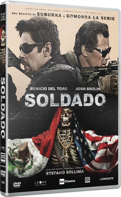 Soldado (DVD) di Stefano Sollima - DVD