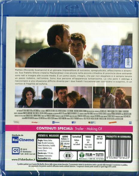 Euforia (Blu-ray) di Valeria Golino - Blu-ray - 2
