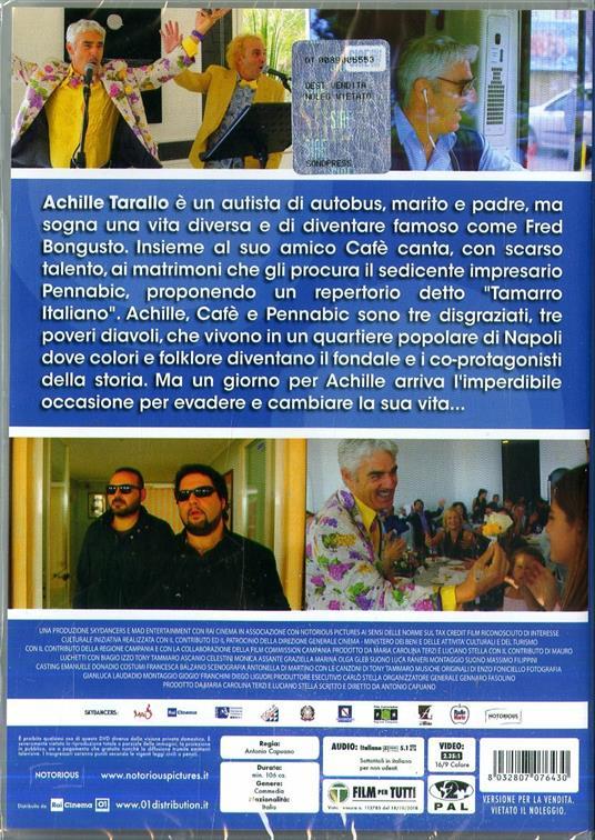 Achille Tarallo (DVD) di Antonio Capuano - DVD  - 2
