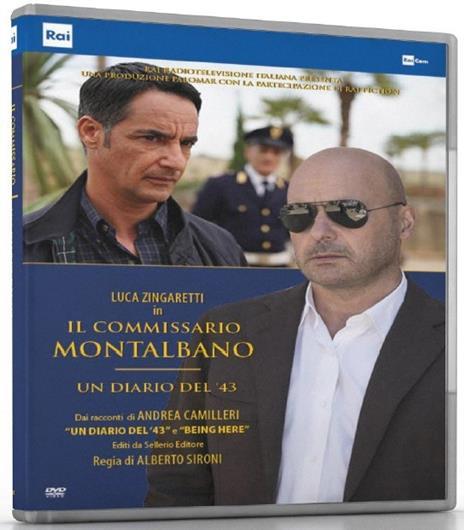 Il commissario Montalbano. Un diario del '43 di Alberto Sironi - DVD