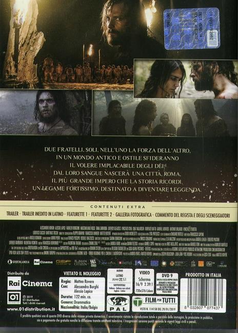Il primo re (DVD) di Matteo Rovere - DVD - 2