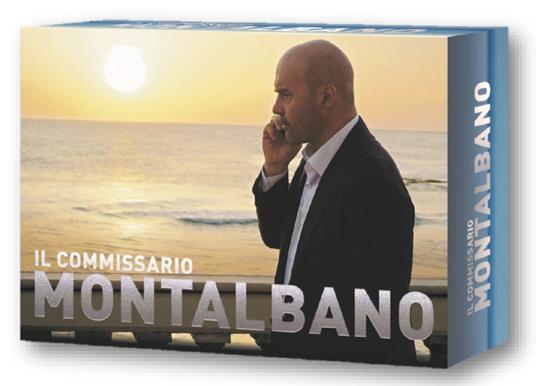 Il commissario Montalbano. Cofanetto Limited Edition. Stagioni complete 1-13 (34 DVD) di Alberto Sironi - DVD
