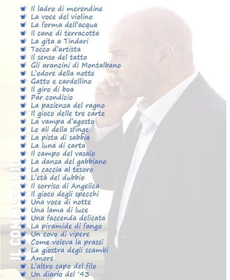 Il commissario Montalbano. Cofanetto Limited Edition. Stagioni complete 1-13 (34 DVD) di Alberto Sironi - DVD  - 2