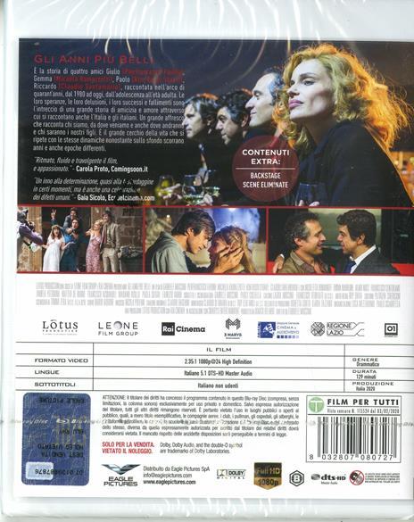 Gli anni più belli (Blu-ray) di Gabriele Muccino - Blu-ray - 2