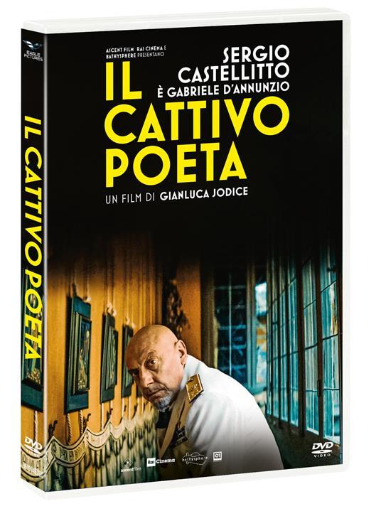 Il cattivo poeta (DVD) di Gianluca Jodice - DVD