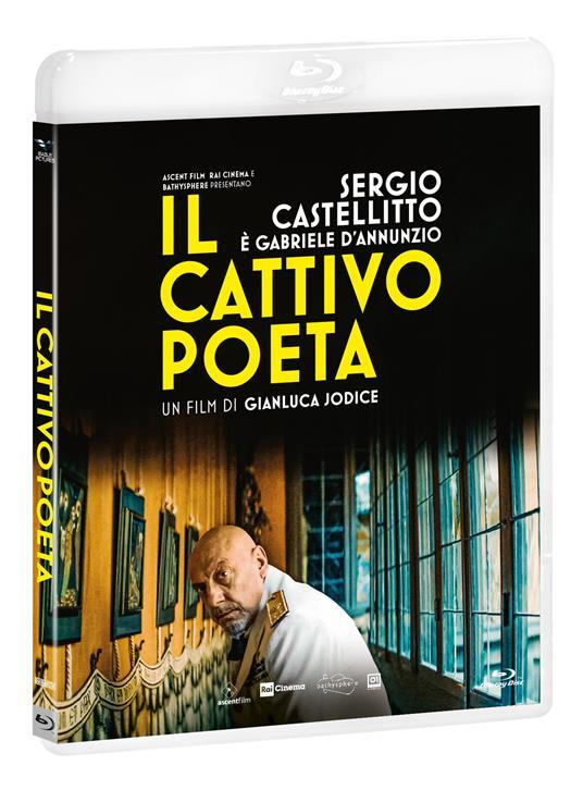 Il cattivo poeta (Blu-ray) di Gianluca Jodice - Blu-ray