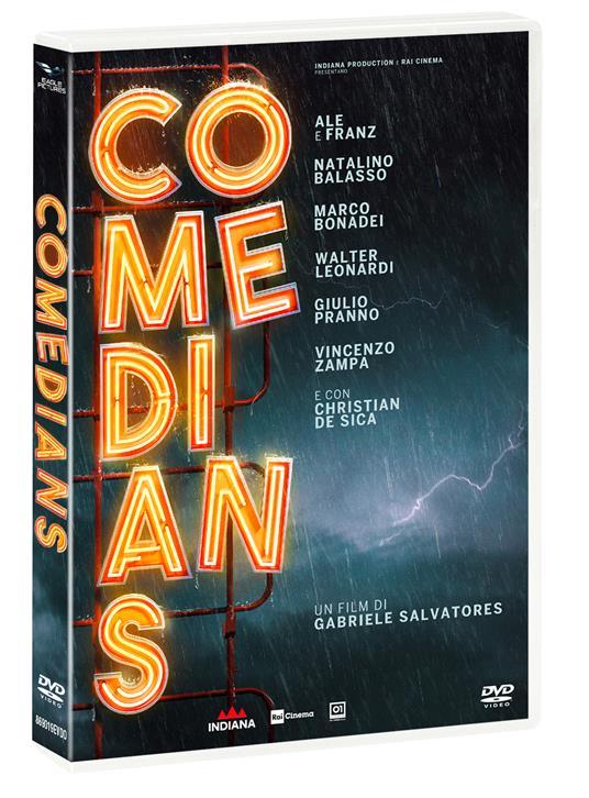 Comedians (DVD) di Gabriele Salvatores - DVD - 2