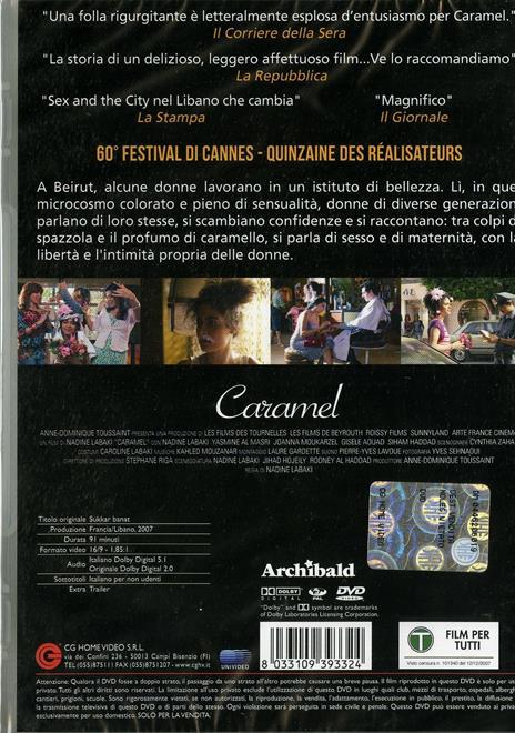 Caramel di Nadine Labaki - DVD - 2