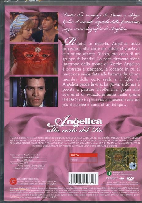 Angelica alla corte del Re di Bernard Borderie - DVD - 2