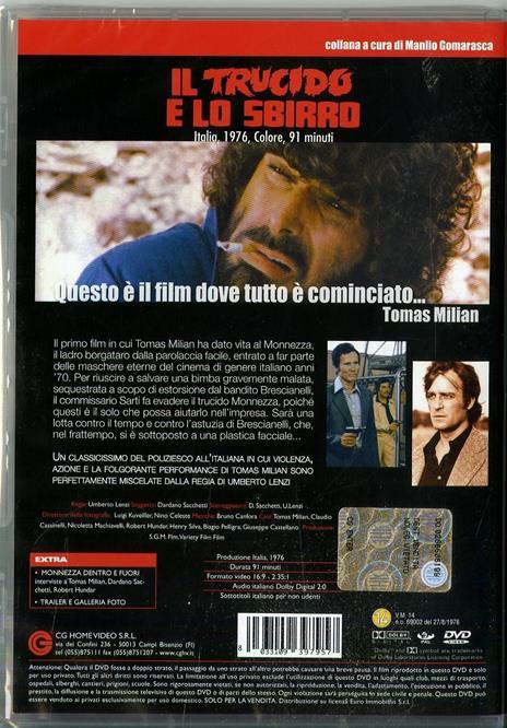 Il trucido e lo sbirro di Umberto Lenzi - DVD - 2